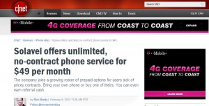 Solavei's $49 unlimited talk text data plan catches on, even with a CNET reviewer!