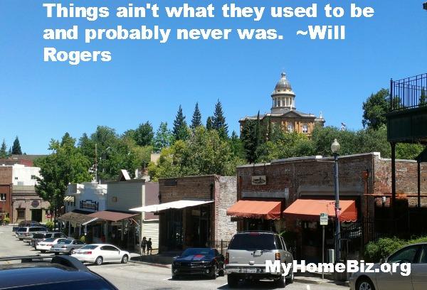 My Home Biz kickin' it in Old Town, Auburn, CA